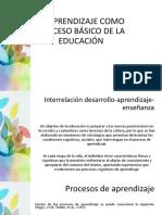 EL APRENDIZAJE COMO PROCESO BÁSICO DE LA EDUCACIÓN.pdf