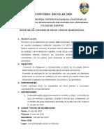 BASES PARA EL CONCURSO DE JUEGOS TRADICIONALES (1)