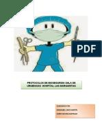 Manual bioseguridad URGENCIAS