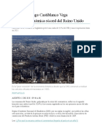Recesión económica récord del Reino Unido