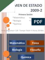 Examen de Estado 2009-2!.pptx