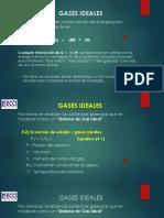 RELACIONES DE ENERGÍA INTERNA Y CAPACIDAD TÉRMICA ESPECÍFICA