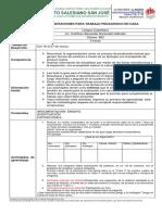 Lengua Castellana- Act. de Aprendizaje