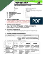 SILABO 2020 - METODOLOGIAS DE DESARROLLO DE SOFTWARE