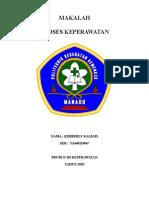 MAKALAH PROSES KEPERAWATAN-KIMBERLY KALIGIS
