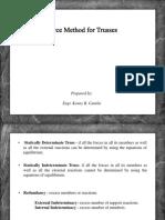 09-Force-Method-Trusses