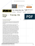 Essay - Tracing the Sign _ The Yellow Site _ Fandom