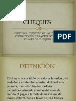 CHEQUES PRESENTACION SENA