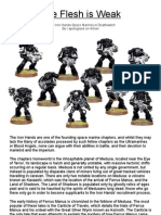 Iron Hands for Deathwatch