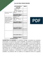 REJILLA DE LOGROS PARA ESTUDIANTES Fisica ONCE