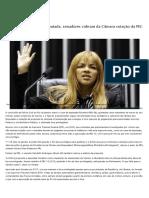 2020-08-29-43-Com indiciamento de deputada, senadores cobram da Câmara votação da PEC do foro — Senado Notícias