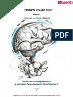 Resumen para el segundo parcial de Neurofisiologia y Psicofisiologia