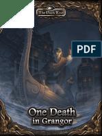The Dark Eye - Adv - One Death in Grangor