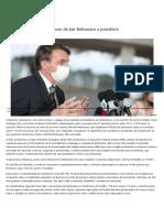 2020-08-29-59-Senadores repudiam ataques de Jair Bolsonaro a jornalista — Senado Notícias