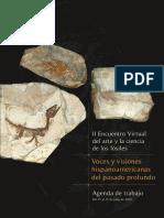 Agenda II Encuentro Del Arte Y La Ciencia De Los Fósiles