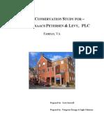 2010 Energy Audit Surovell Isaacs Petersen & Levy PLC