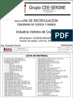 Sistema de recirculacion