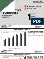 SESSION 3 (QUANTITATIVE TECHNIQUES - SAMPLE PAPER 2)