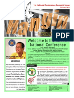 """Ang Hangin"" Newsletter, Vol. 1 No. 1, January 2011"
