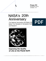 NASA 20th Anniversary Press Kit