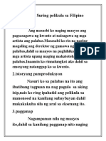 Suring pelikula sa Filipino