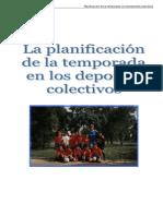 Planificación de los deportes colectivos