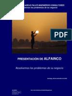 PRESENTACIÓN ALFAINCO