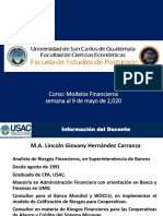 1. Modelos Financieros, VNA, TIR