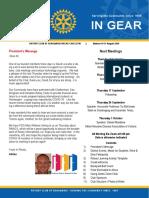 In Gear Week 10 31 August 2020