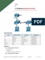 11.6.2 Lab - Switch Security Configuration - ILM.docx