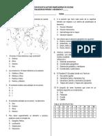 3 Examen de Geografia 8° 1 periodo 2019