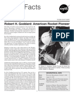 NASA Facts Robert H Goddard American Rocket Pioneer