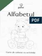 Alfabetul - Carte de colorat cu activitati 3 ani.pdf