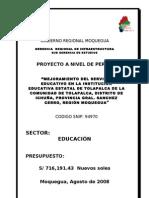Perfil IE Tolapalca