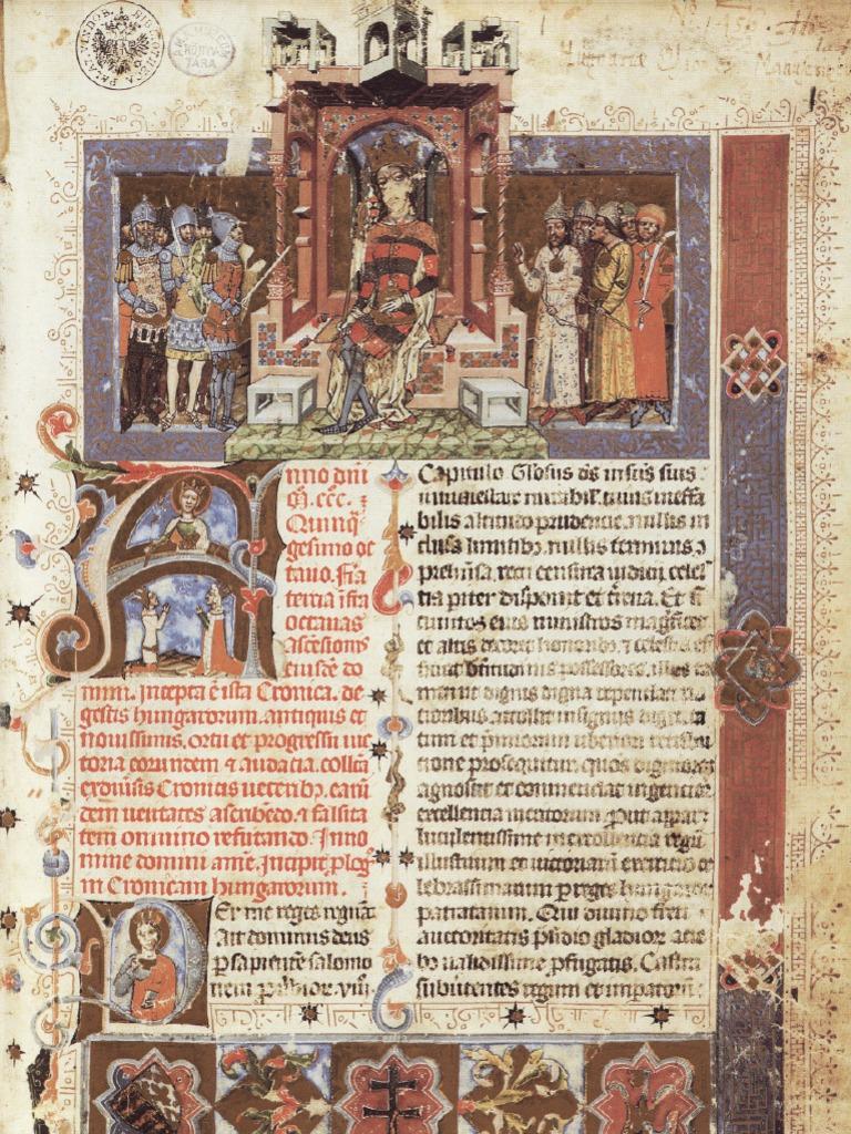 Chronicon Pictum Vindobonense Kepes Kronika Cronica