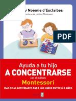 Ayuda a tu hijo a concentrarse - Noemie y Sylvie d'Esclaibes