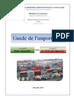 Guide importateur