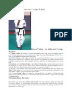 Heian Yodan_Le kata aux 5 coups de pied