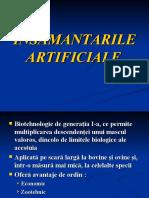 insamantari artificiale