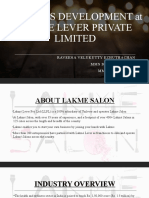 BUSINESS DEVELOPMENT at LAKME LEVER PRIVATE LIMITED.pptx