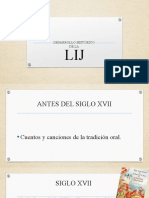 Desarrollo histórico de la LIJ (1)