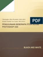 Penggunaan Beberapa Fitur Adobe Photoshop CS3