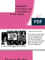 Human Rights Education and the Universal Declaration of Human Rights.pptx