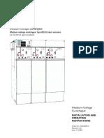 Siemens Medium Voltage 24kV Gas Insulated Switchgear 8DJH OandM