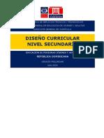 DISEÑO CURRICULAR NIVEL SECUNDARIO EDPJA, preliminar, 08.2020 (003) (2) (2)