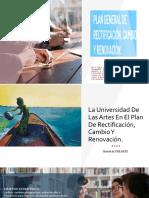 PRESENTACION DEL PLAN RENOVACIÓN UNIVERSITARIA 2019