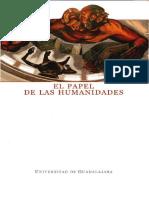 El papel de las humanidades - Oliver Sanchez, Lilia;