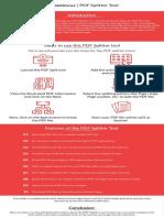 PDF Splitter Tool by Shdatarescue