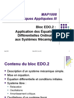 Application des EDOs aux systèmes mécaniques