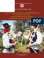 Cultura-traditionala patrimoniu